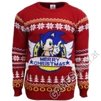 Sonic the Hedgehog Xmas Pullover (L) (Merchandise)
