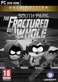 South Park: The Fractured But Whole [Gold AT uncut Edition] + Preorder DLC + The Coon Pin (PC)