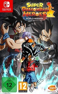 Super Dragon Ball Heroes World Mission [Day 1 Edition] (Nintendo Switch)