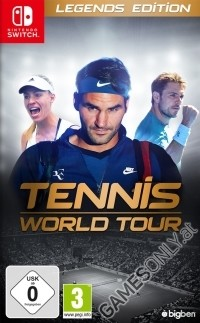 Tennis World Tour [Legends Edition] inkl. Bonus (Nintendo Switch)