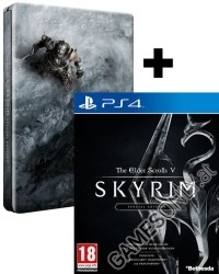 The Elder Scrolls V: Skyrim [Special Limited D1 Steelbook AT uncut Edition] (PS4)