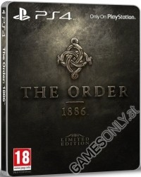 The Order 1886 [Limited Steelbook PEGI uncut Edition] (PS4)
