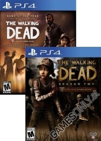 The Walking Dead: Season 1 GOTY + Season 2 Doppelpack [US uncut Edition] (PS4)