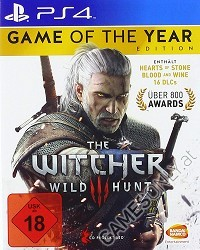 The Witcher 3: Wild Hunt [GOTY uncut Edition] (USK) (PS4)