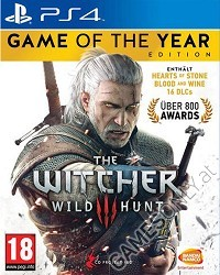 The Witcher 3: Wild Hunt [PEGI GOTY uncut Edition] - Cover beschädigt (PS4)