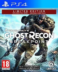 Tom Clancys Ghost Recon Breakpoint Limited Sentinel Corp. Edition [EU uncut] (PS4)