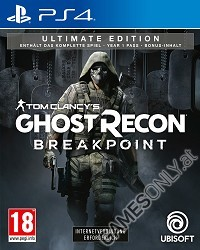 Tom Clancys Ghost Recon Breakpoint [Ultimate Bonus uncut Edition] (PS4)