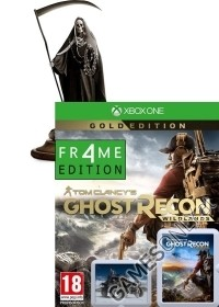 Tom Clancys Ghost Recon Wildlands [FALLEN ANGEL Collectors Gold uncut Edition] inkl. Figur (25 cm) (Xbox One)
