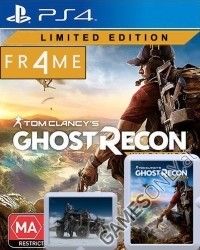 Tom Clancys Ghost Recon Wildlands [Limited FR4ME EU uncut Edition] + Bonusmission (PS4)