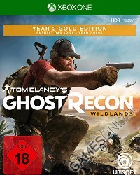 Tom Clancys Ghost Recon Wildlands [Year 2 Gold Edition] - Cover beschädigt (Xbox One)