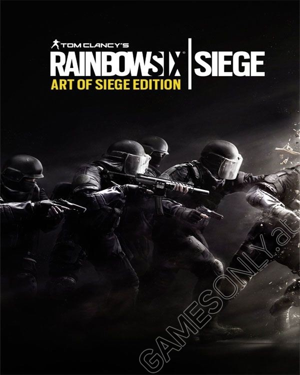 xbox one tom clancys rainbow six siege art of siege. Black Bedroom Furniture Sets. Home Design Ideas