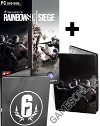 Tom Clancys Rainbow Six Siege [Steelbook Bonus uncut Edition] inkl. Bonus DLC (PC)