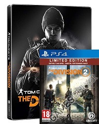 Tom Clancys The Division 2 [Limited Steelbook uncut Edition] (PS4)