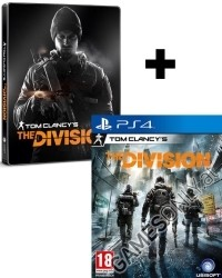 Tom Clancys The Division [Steelbook uncut Edition] inkl. 3 Bonus DLCs (PS4)