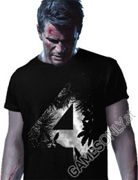 Uncharted 4 - T-Shirt (M) (Merchandise)