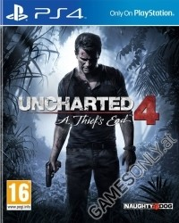 Uncharted 4: A Thiefs End [Import uncut Edition] (PS4)