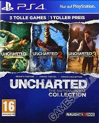 Uncharted: The Nathan Drake Collection 1-3 [AT PEGI uncut Edition] - Erstauflage (PS4)