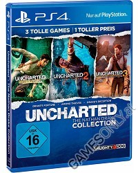 Uncharted: The Nathan Drake Collection 1-3 [USK Bonus uncut Edition] - Erstauflage (PS4)