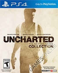 Uncharted: The Nathan Drake Collection 1-3 [US uncut Edition] (PS4)