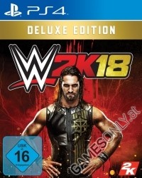 WWE 2K18 [Deluxe Early Access AT Edition] (PS4)