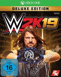 WWE 2K19 [Deluxe Edition] inkl. Preorder Bonus (Xbox One)