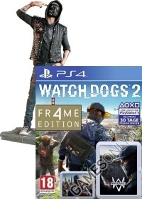 Watch Dogs 2 [Limited WRENCH FR4ME AT uncut Edition] inkl. Figur (24 cm) + Bonusmission (PS4)