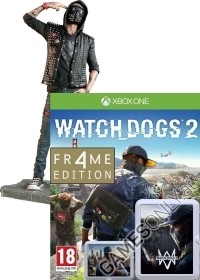 Watch Dogs 2 [Limited WRENCH FR4ME uncut Edition] inkl. Figur (24 cm) (Xbox One)