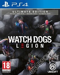 Watch Dogs Legion [Ultimate AT uncut Edition] inkl. Preorder DLC (PS4)