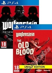 Wolfenstein komplettes uncut Pack: The New Order + Old Blood [EU uncut Edition] + Nazi Zombie Mode (PS4)