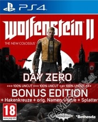 Wolfenstein II: The New Colossus Special Edition [EU uncut + Symbolik] (Promotionpreis) (PS4)