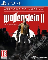 Wolfenstein II: The New Colossus Welcome to Amerika! Edition [EU uncut + Symbolik] (PS4)