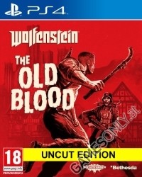 Wolfenstein: The Old Blood [indizierte uncut Edition] + Nazi Zombie Mode - Cover beschädigt (PS4)