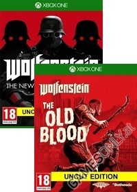 Wolfenstein komplettes uncut Pack: The New Order + Old Blood [EU uncut Edition] + Nazi Zombie Mode (Xbox One)