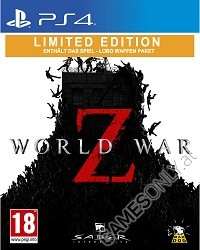 World War Z [Limited uncut Edition] - AT PEGI 18 (PS4)
