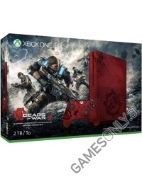 Xbox One S Konsole 2TB Ultimate Gears of War 4 Bundle [Limited Edition] (Xbox One)
