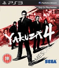 Yakuza 4 [uncut Edition] (PS3)