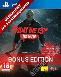 Friday The 13th The Game [Bonus uncut Edition] (PS4)