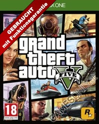 GTA 5 - Grand Theft Auto V [AT uncut Edition] (Xbox One)