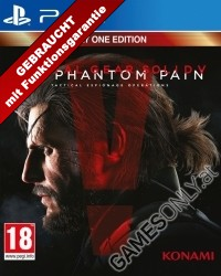 Metal Gear Solid 5: The Phantom Pain [uncut Edition] (PS4)