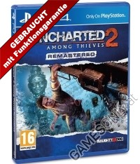Uncharted 2: Among Thieves [Remastered EU uncut Edition] (PS4)