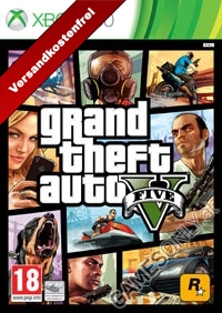 GTA 5 - Grand Theft Auto V [AT uncut Edition] inkl. Bonus DLC (Xbox360)