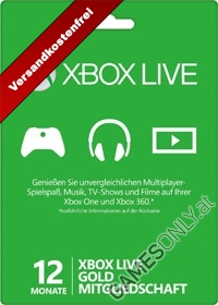 Xbox Live Gold (12 Monate) (PC Download)
