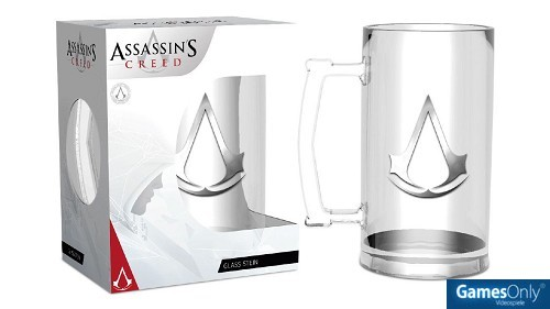 Assassins Creed Logo Bierkrug Merchandise