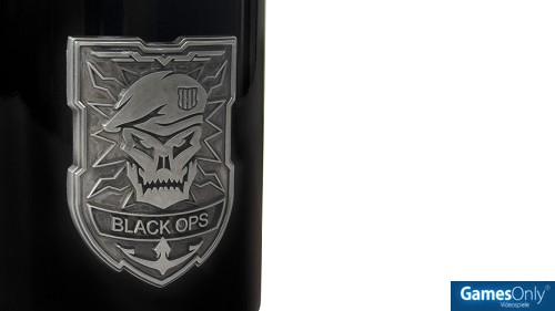 Call of Duty Black Ops 4 Tasse Metall Logo Merchandise