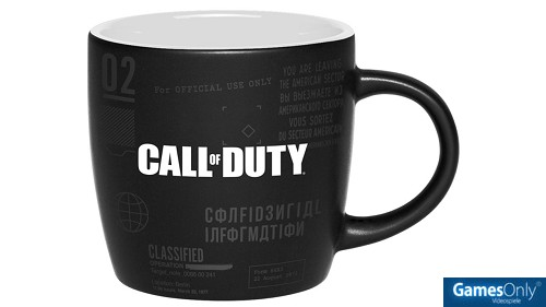 Call of Duty Cold War Top Secret Documents Two Colored Tasse Merchandise