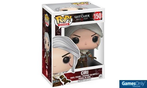 Ciri The Witcher POP! Vinyl Figur Merchandise