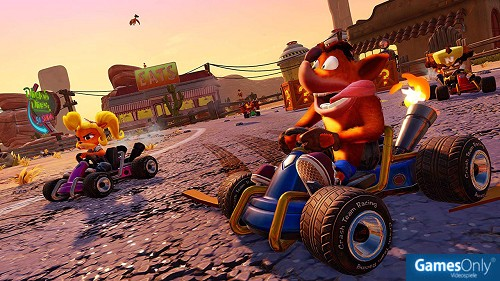 Crash Team Racing Nitro Fueled PS4 PEGI bestellen