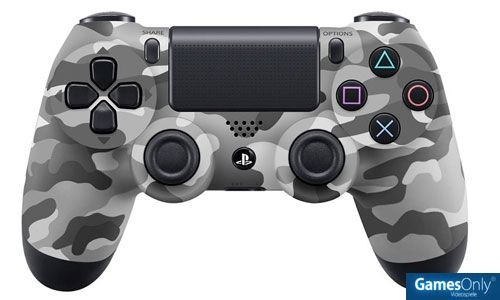 DualShock 4 wireless Controller Camouflage PS4