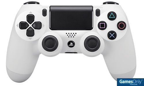 DualShock 4 wireless Controller Glacier White PS4
