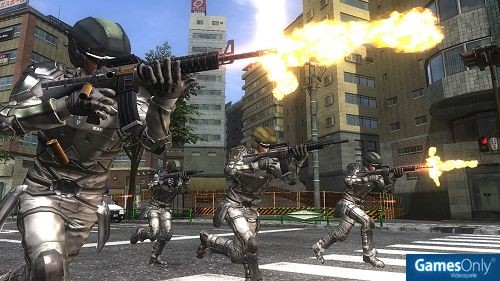 Earth Defence Force PS4